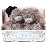Фото Пара мишек Teddy Жених и Невеста Happily Ever After 11 см G01W6442